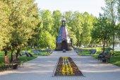 Fotografie Von Alexander Nevsky - ein Denkmal für die Verteidiger der Kapelle der