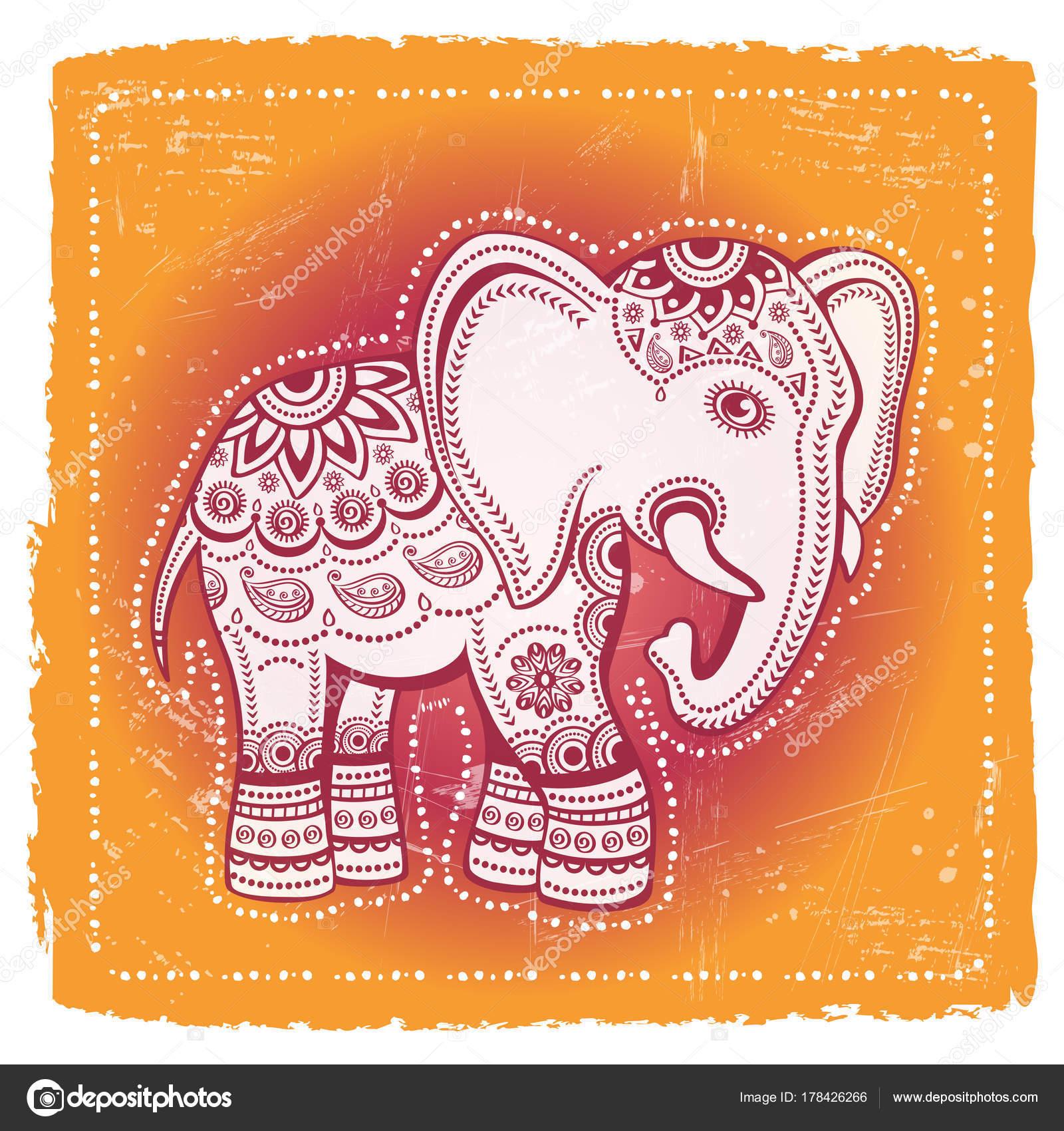 Ethnic elephant tribal background indian god ganesha indian symbol ethnic elephant tribal background indian god ganesha indian symbol prints stock vector buycottarizona Images