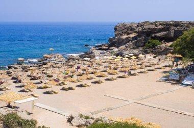 Kalithea beach, Rhodes island, Greece