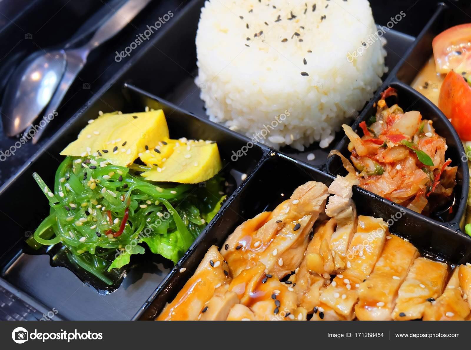 L 228 Ckra Japanska Bento L 229 Da Med Teriyaki Kyckling