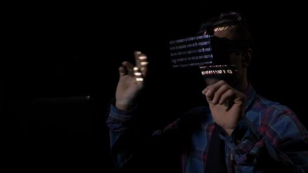 63e244c29b Επικίνδυνη χάκερ χρησιμοποιούν γυαλιά εικονικής πραγματικότητας vr ...