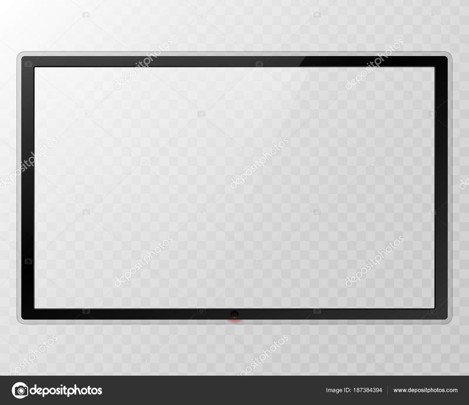 Frame Tv. Empty führte Monitor Computer schwarze Fotorahmen auf ...