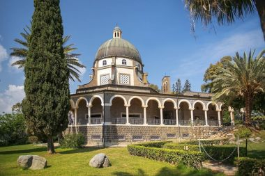 Church of the Beatitudes, Sea of Galilee, Israel