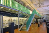 Hall egy gyűjtemény művészeti üvegáruk, Victoria és Albert Museum, London