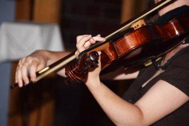 Symphony orchestra for violin viola and cello