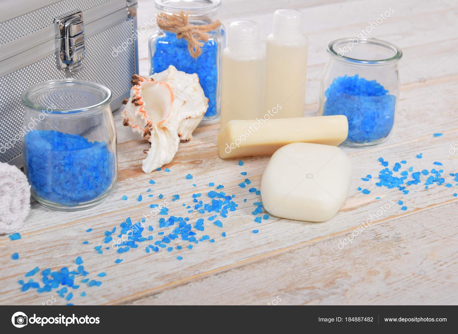 Rinfrescante bagno di sale sale con h mini mini shampoo e sapone ...
