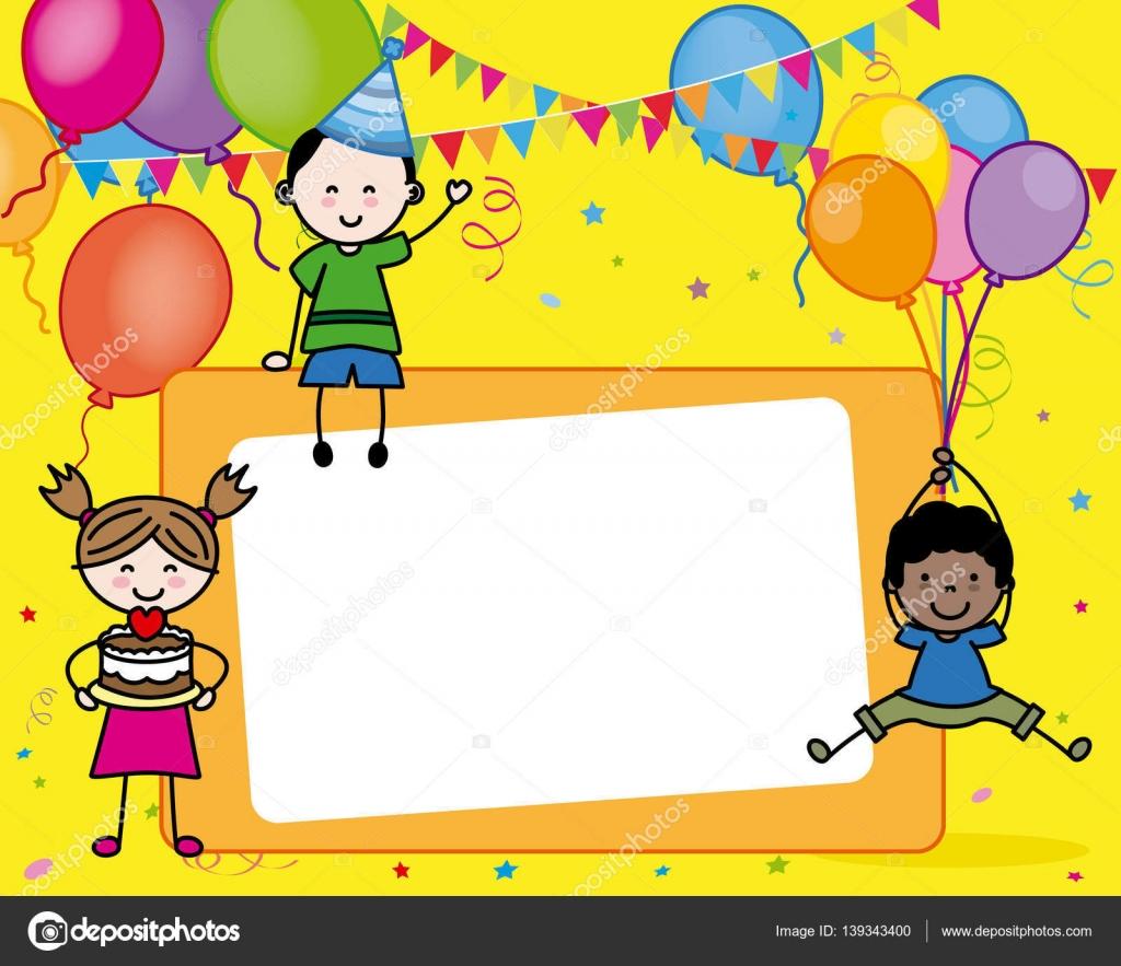 födelsedagskort till barn barn födelsedagskort — Stock Vektor © sbego #139343400 födelsedagskort till barn