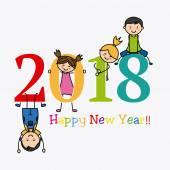 2018. šťastný nový rok