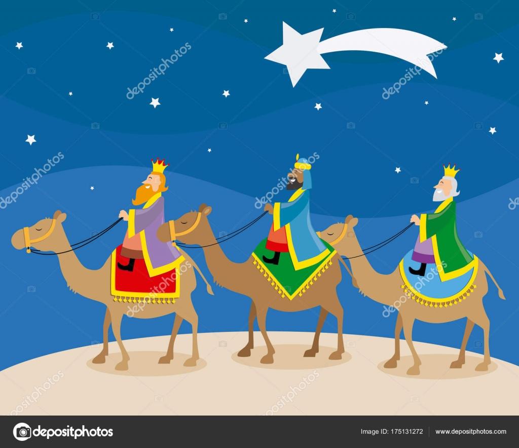 Ver Fotos De Los Reyes Magos De Oriente.Los Tres Reyes Magos Oriente Camellos Archivo Imagenes