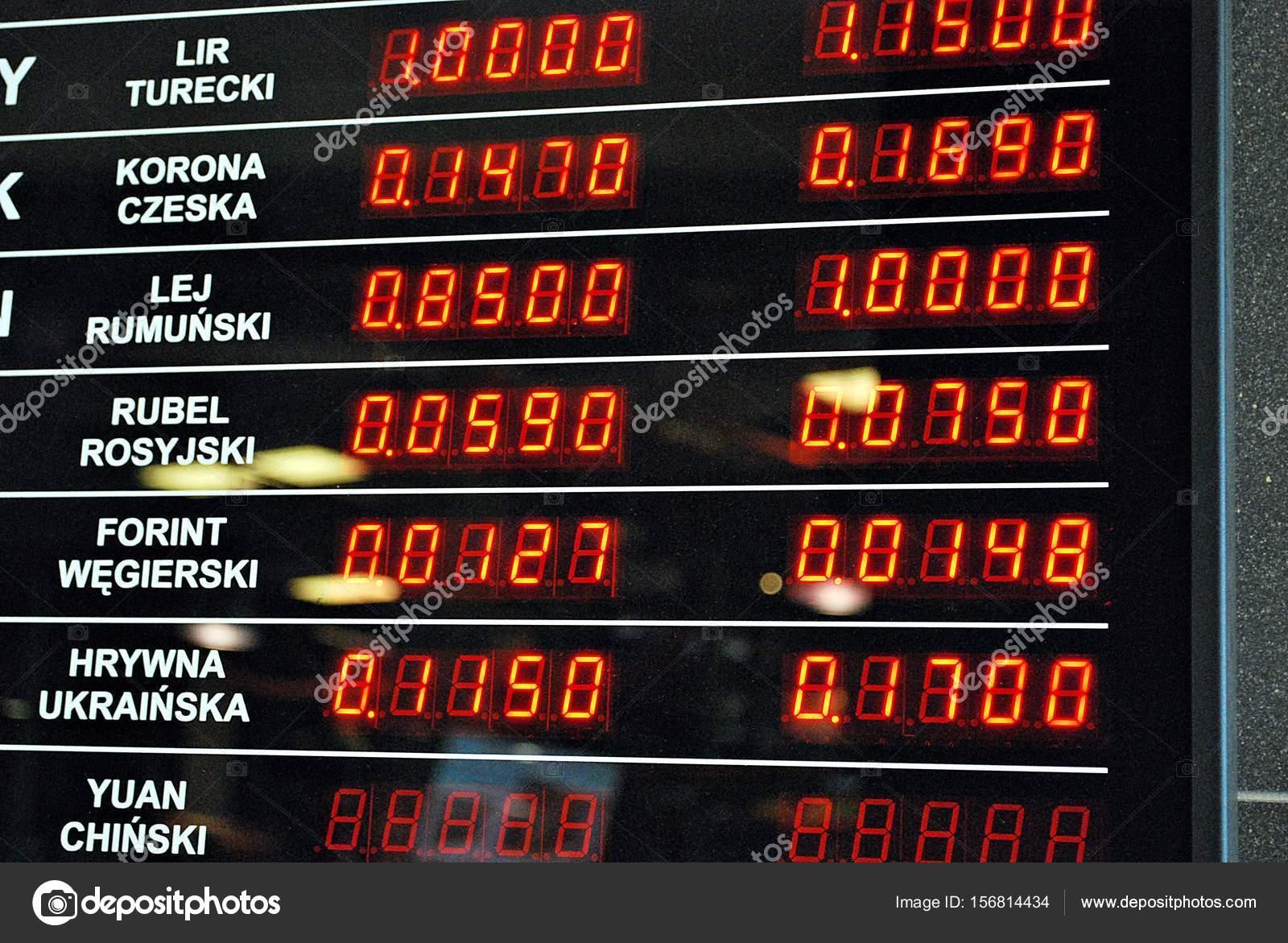 digital display board — Stock Photo © grand-warszawski #156814434