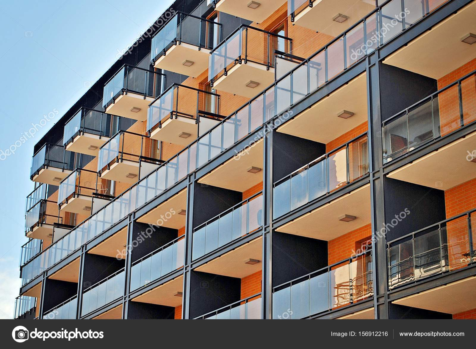 Modern apartment buildings exteriors — Stock Photo © grand ...