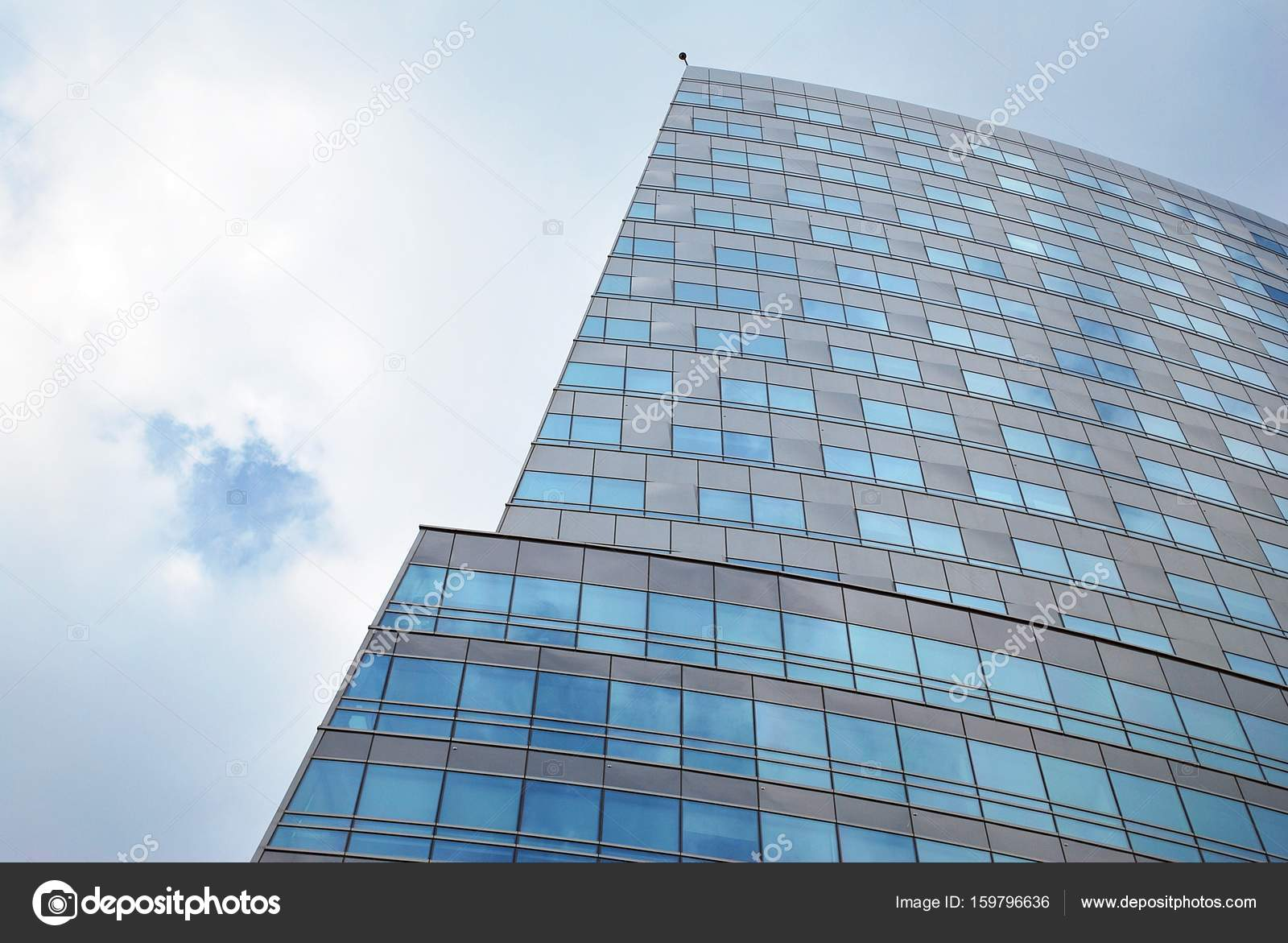 office building facade. Office Building Facade. Modern Building.Modern With Facade Of Glass \\u2014