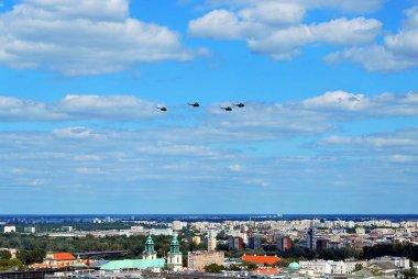 Flight of aircrafts