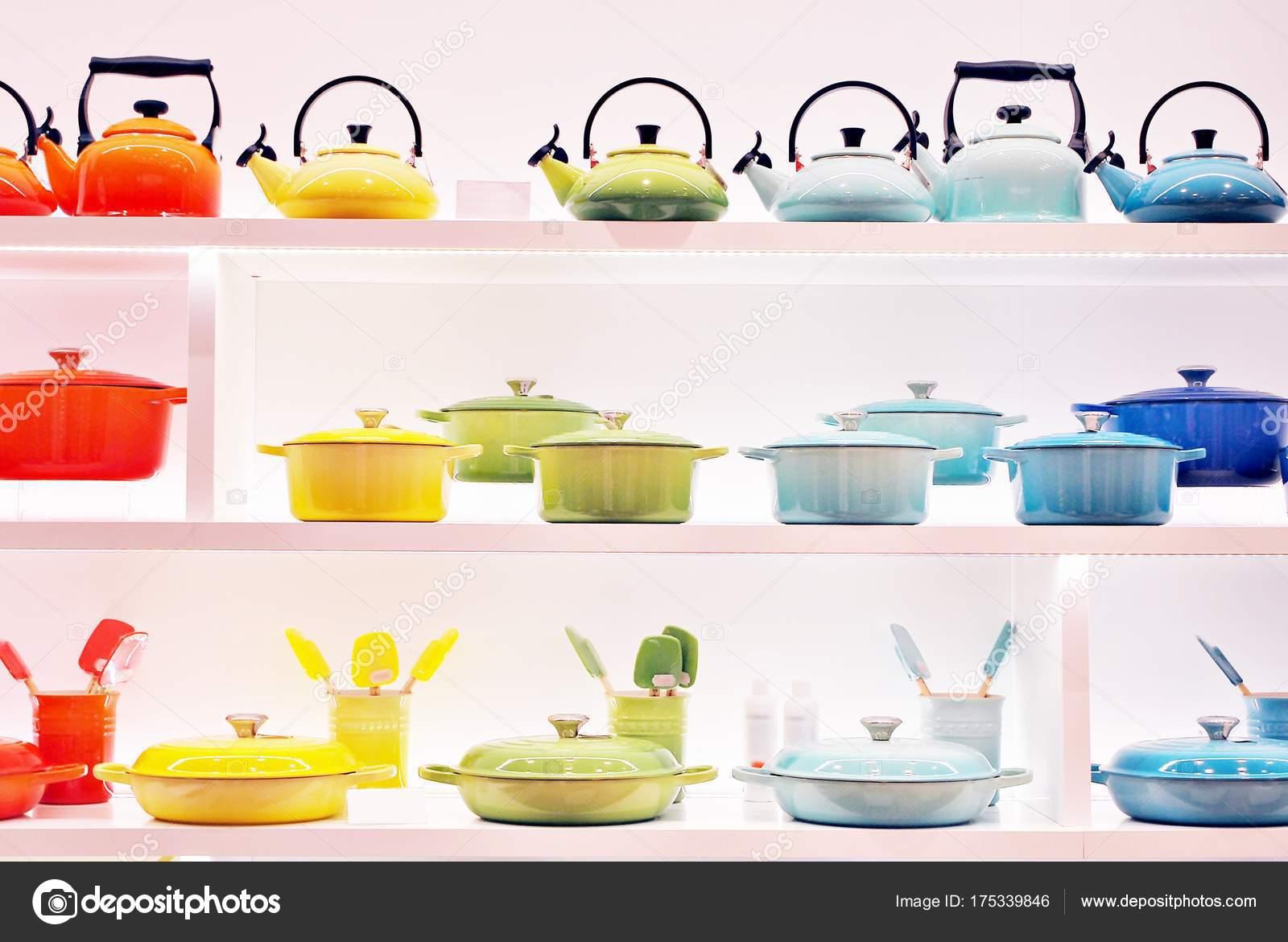 Kitchen Utensils Display Store — Stock Photo © grand ...