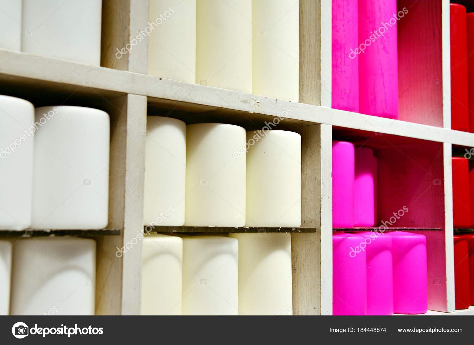 Candles Sale Closet Full Varied Candles Interior Decorating Store ...