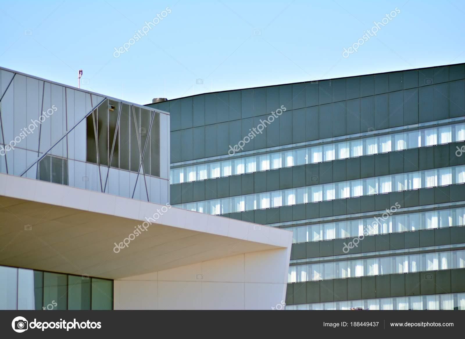Exterieur Immeuble Bureaux Moderne Photographie Grand Warszawski
