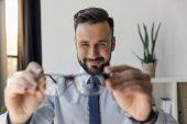 Fényképek Üzletember gazdaság szemüveg