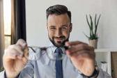 Fotografia occhiali di azienda di imprenditore