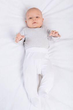 Caucasian baby
