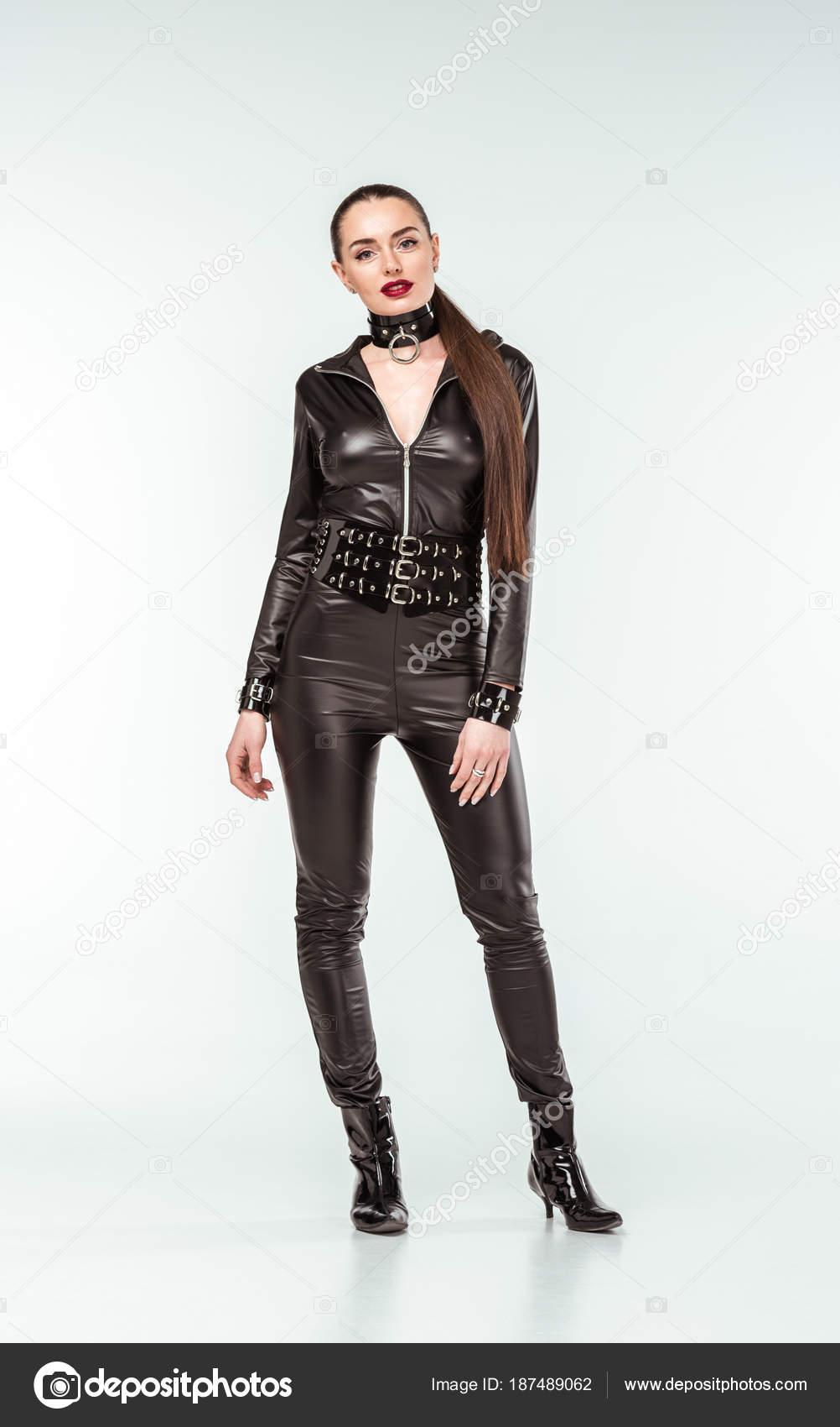 Кожаные эротические костюмы #14