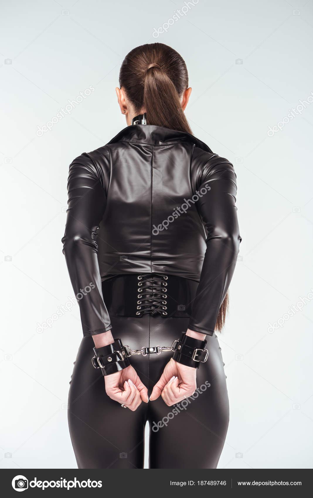 sexy girl leder und latex