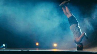 Break Dance Choreography Performance Slow Motion