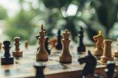 Fotografie Šachovnici během hry