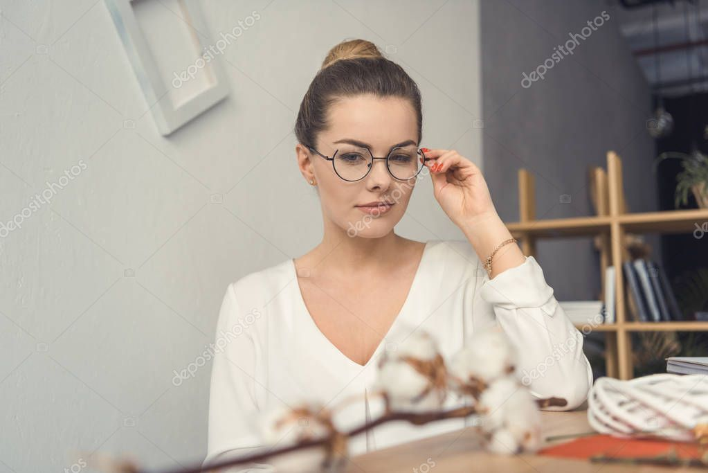 female florist at workplace