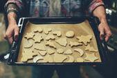 személy sütés karácsonyi sütik