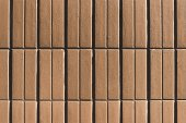 brown tiles background