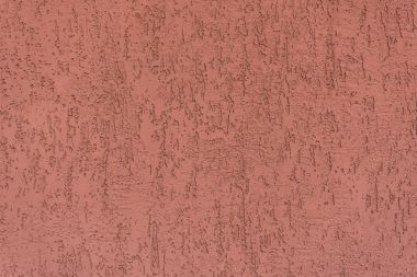 Close-up view of bright red weathered wall texture stock vector