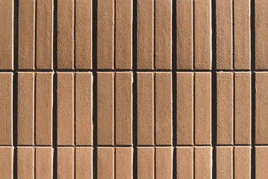 Close-up view of blank brown tiles background stock vector