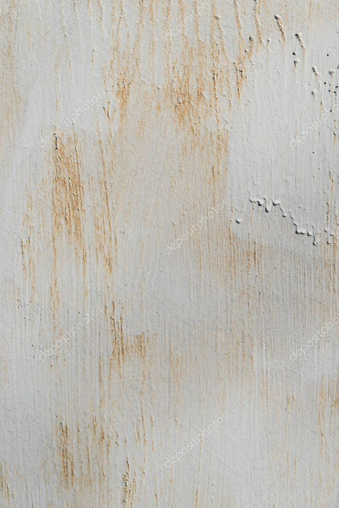 white texture with rust