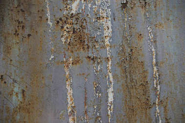 Close-up view of scratched rusty metallic surface stock vector