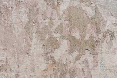 Close-up view of old weathered concrete wall textured background stock vector