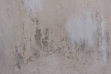 Close-up view of grey scratched weathered concrete wall texture stock vector