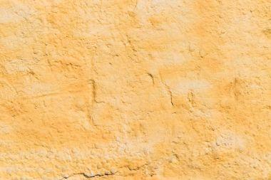 weathered orange wall