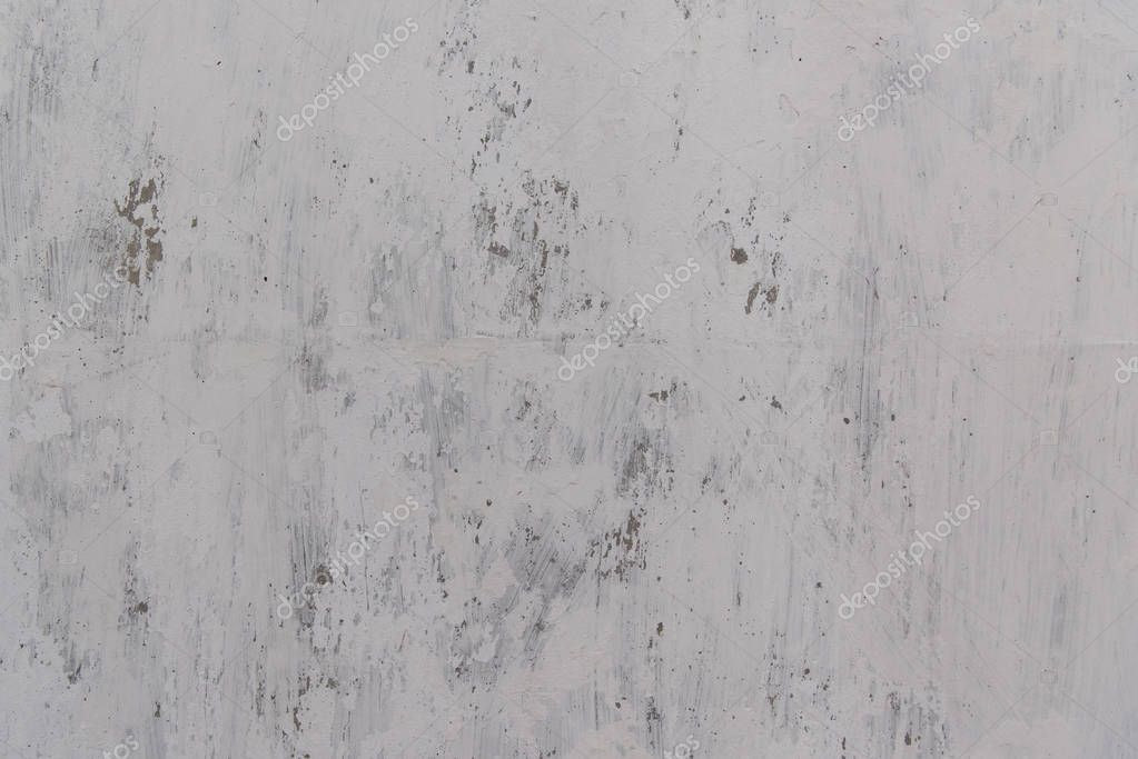 scratched white wall