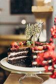 Všechno nejlepší k narozeninám dort