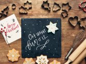 formuláře a ingredience pro vánoční cukroví