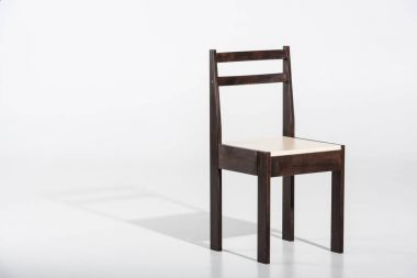 dark wooden chair