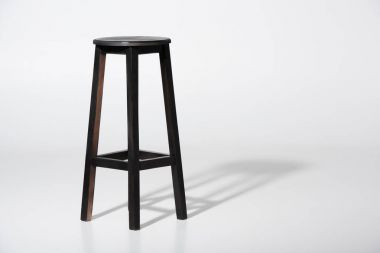 classic black barstool