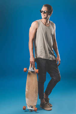 young man with skateboard
