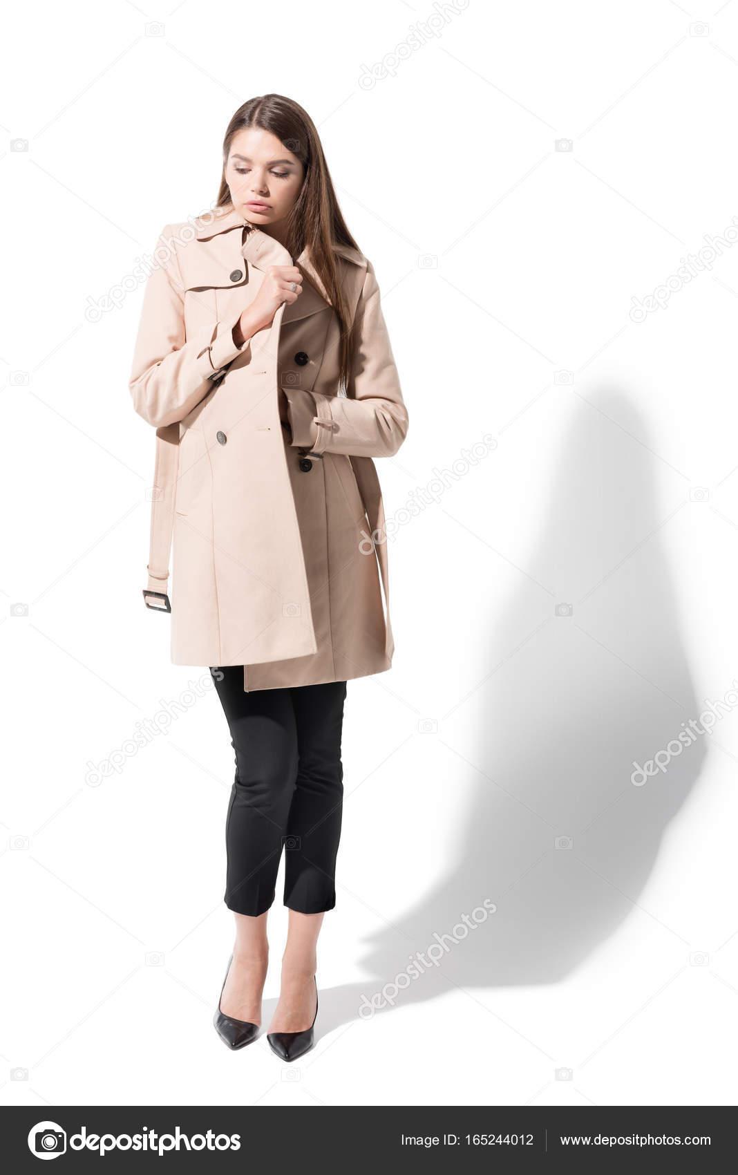 Trench En Classique Coat Classique En Fille Coat Fille Fille Trench Of06xqw