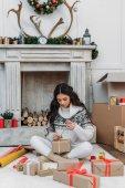 rozbalování dárků