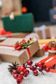 Fotografie Vánoční výzdoba a dárky