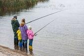 Familienfischerei