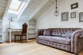 Fotografie sofa in cozy room