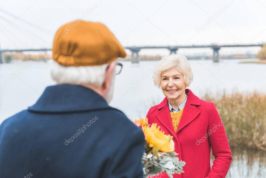 flowers for senior wife