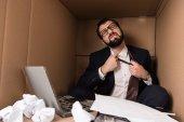 Üzletember eltávolítása nyakkendő